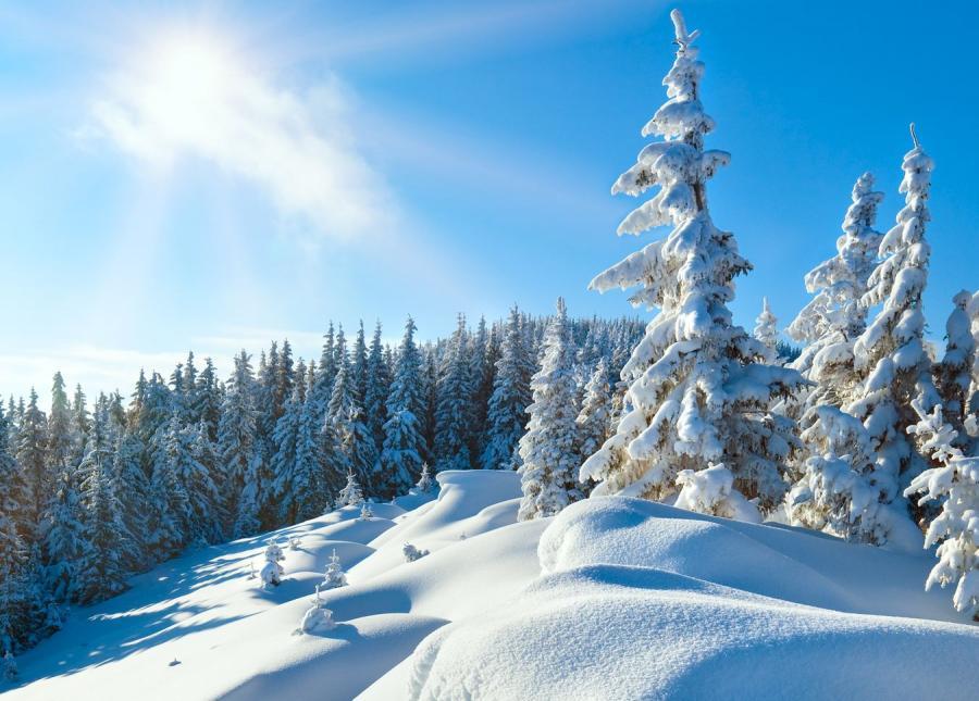 23 cm śniegu na Kasprowym Wierchu