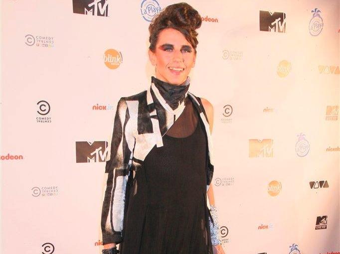 Michał Szpak na urodzinach MTV
