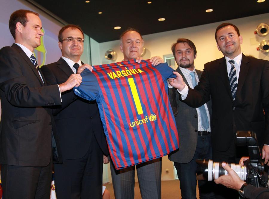 ae1472091 FC Barcelona otwiera akademię piłkarską w Warszawie - Piłka nożna ...