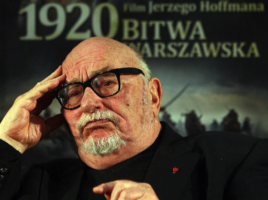 """Jerzy Hoffman po pierwszym pokazie filmu """"1920 Bitwa Warszawska"""""""