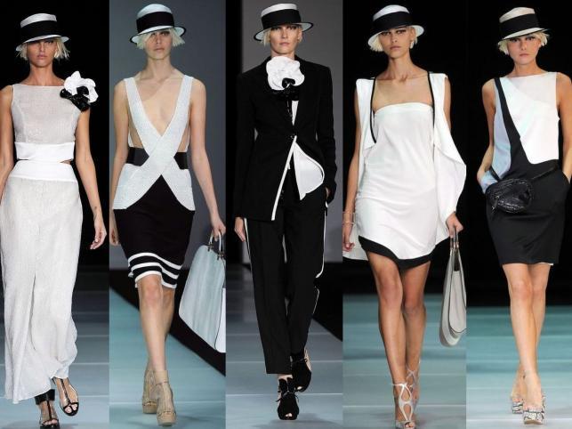 Kolekcja Emporio Armani na sezon wiosna/lato 2012