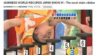 Zobacz, jak Japończyk bije rekord Guinnessa