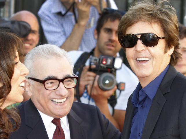 Martin Scorsese i Paul McCartney