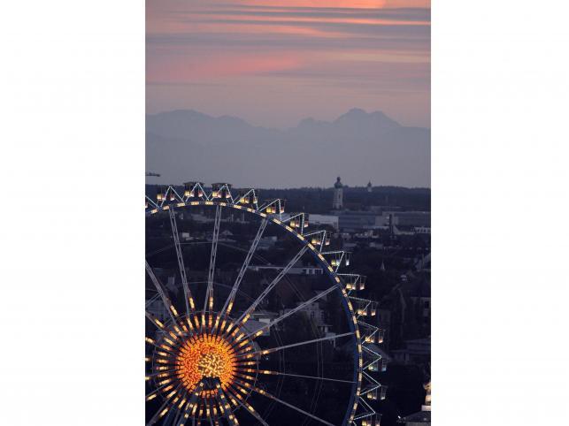 Teren Oktoberfest Monachium