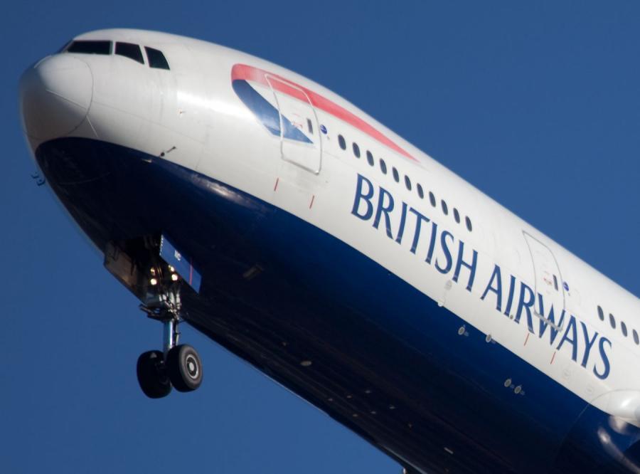 Samolot British Airways