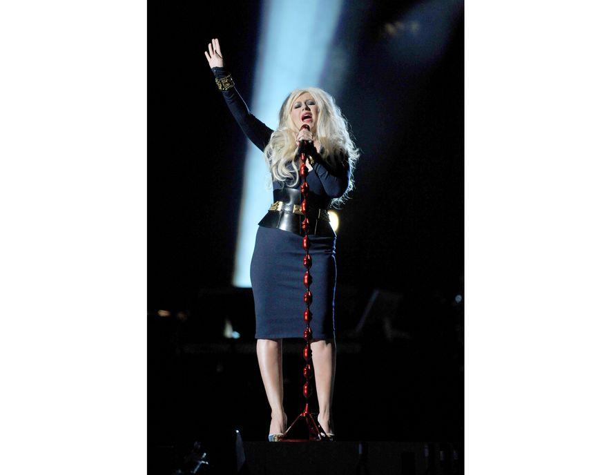 Christina Aguilera w drugiej, bardziej eleganckiej odsłonie