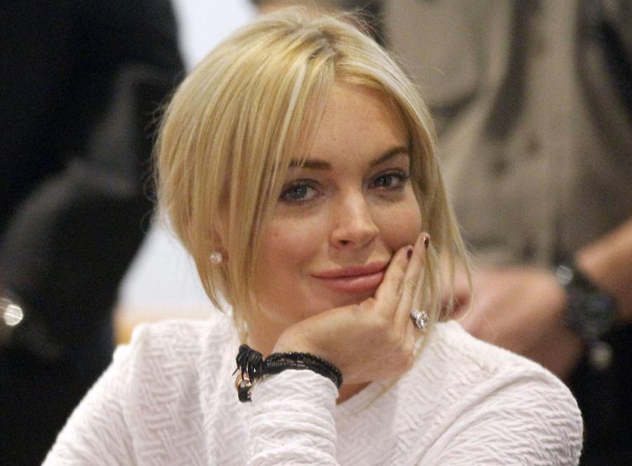 Lindsay Lohan już na wolności