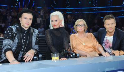 Jury show, Adam Sztaba po prawej