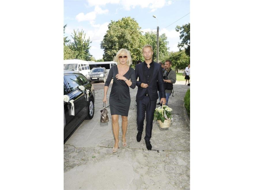Agata Młynarska i Piotr Koncki.
