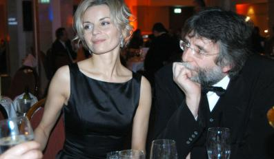 Gwiazda z mężem w 2005 roku