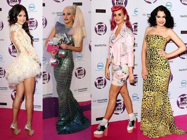Od piękna do kiczu: dziwaczne kreacje gwiazd na MTV EMA. Zobacz!