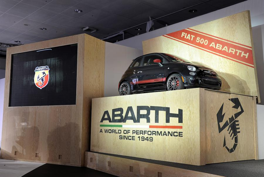 Abarth 500 debiutuje w USA