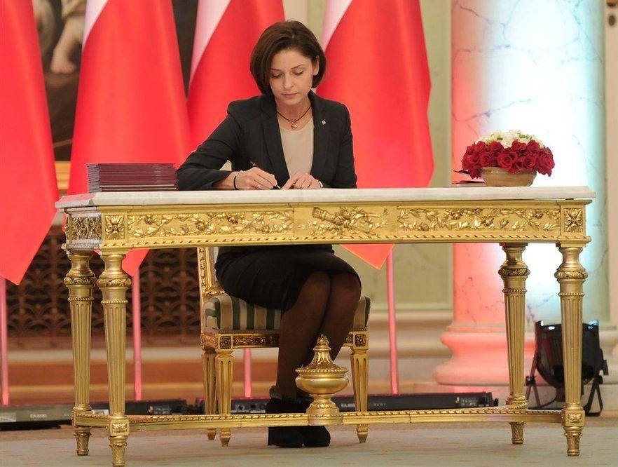Joanna Mucha właśnie została ministrem sportu