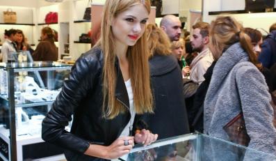 Olga Kaczyńska na prezentacji biżutrii marki Guess.