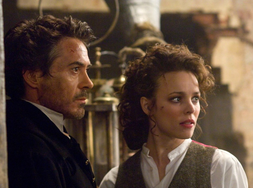 Robert Downey Jr. i rachel McAdams w \
