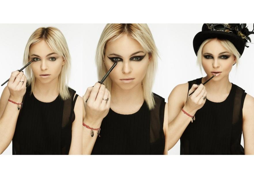 Makijaż sylwestrowy Make Up Store Polska - modelka Candy Girl.