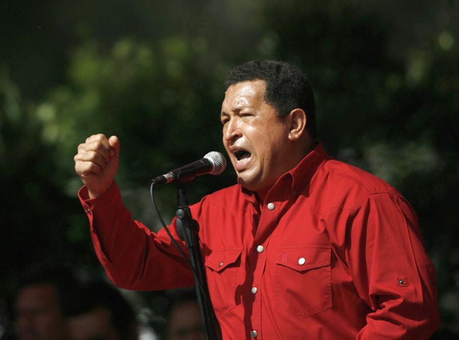 Chavez zrywa stosunki z Kolumbią