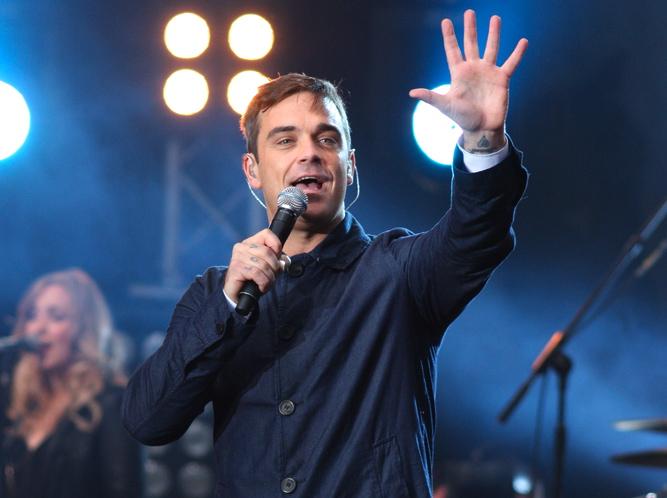 Robbie Williams gotów do walki
