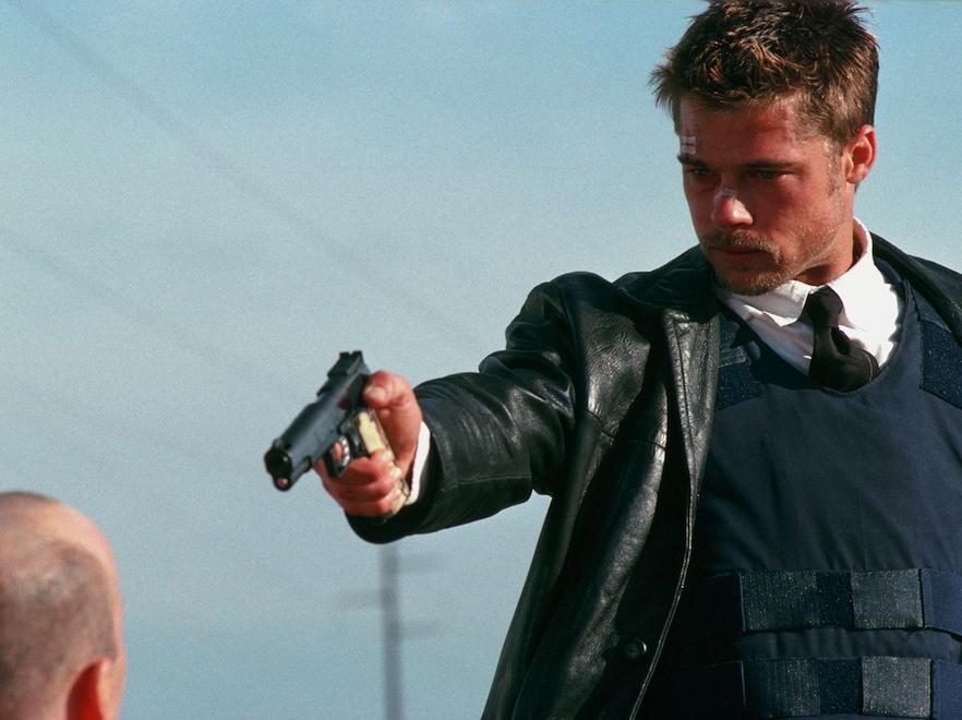 Brad Pitt w kultowym \