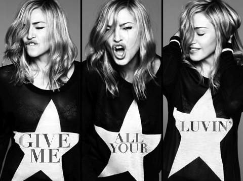 Madonna prezentuje szalone dziewczyny