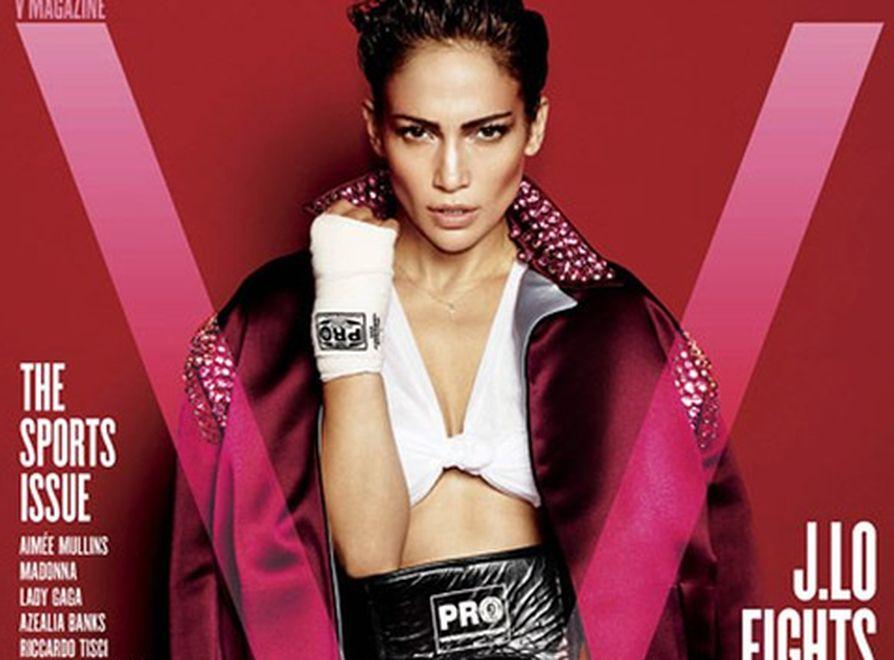 Jennifer Lopez na okładce magazynu \