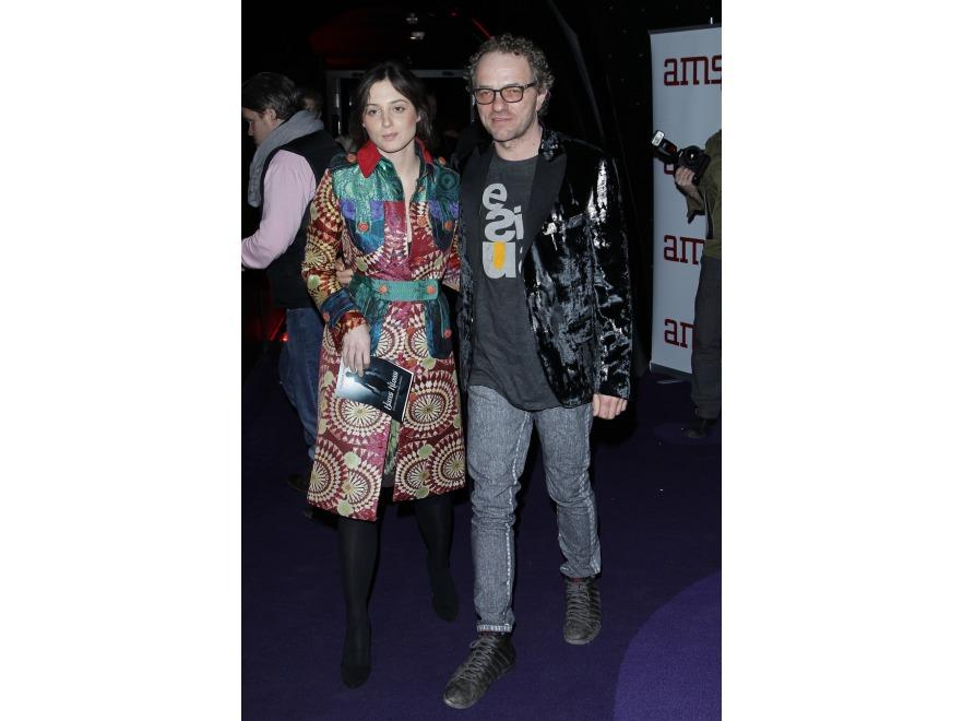 Katarzyna Sarnowska i Piotr Najsztub na premierze filmu \