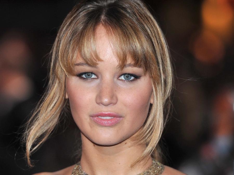 """Jennifer Lawrence na londyńskiej premierze """"Igrzysk śmierci"""""""
