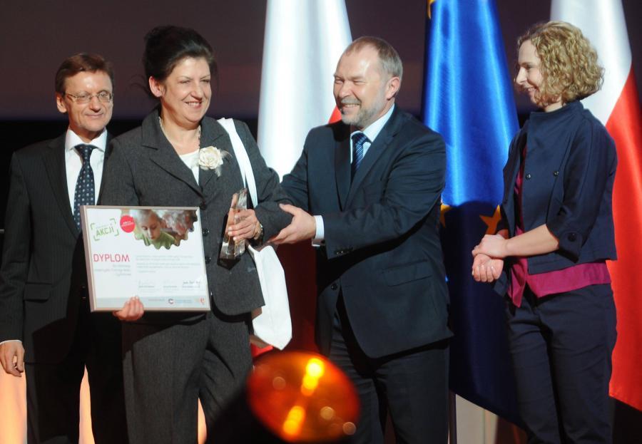 Wręczenie nagród laureatom konkursu \