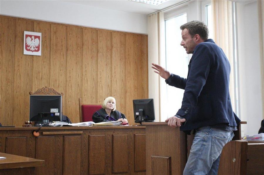 Grzegorz Małecki zeznaje w sądzie
