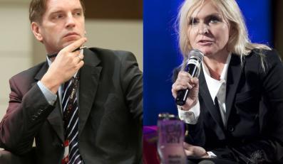 Tomasz Lis i Monika Olejnik