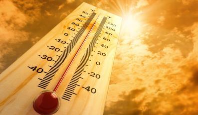 Termometr w słońcu