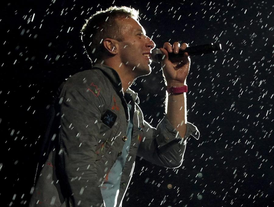 Coldplay na paraolimpiadzie