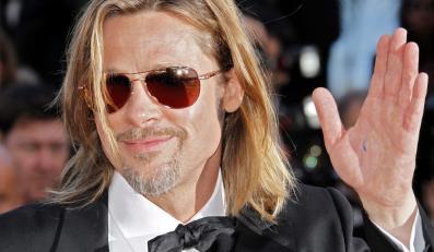 """Brad Pitt na premierze """"Killing Them Softly"""" w Cannes"""