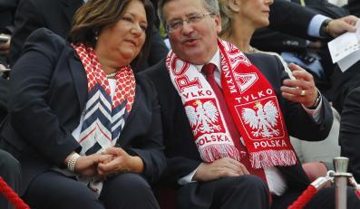 Bronisław Komorowski z żoną