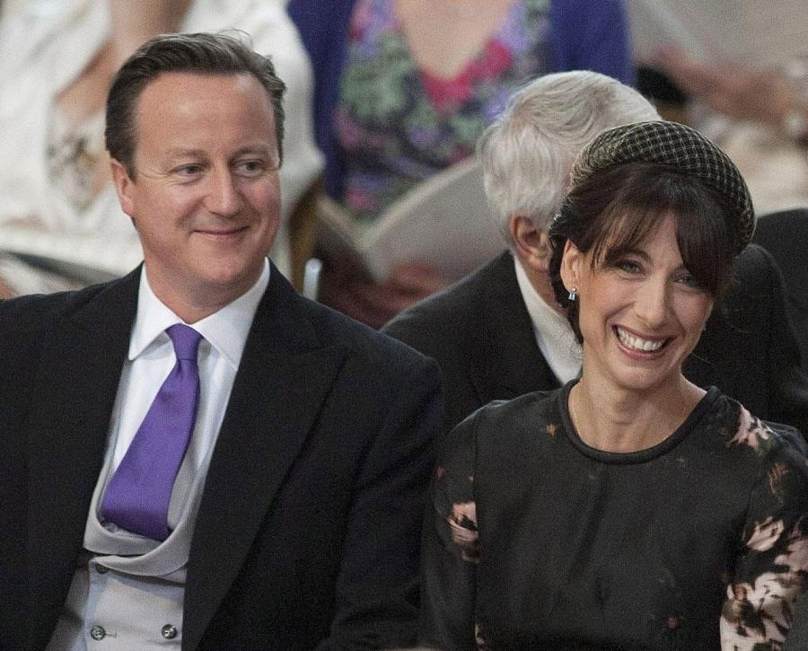 Premier Wielkiej Brytanii David Cameron i jego żona Samantha zostawili w pubie swoją ośmioletnią córkę Nancy