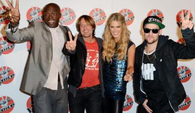 Seal, Keith Urban, Delta Goodrem, Joel Madden