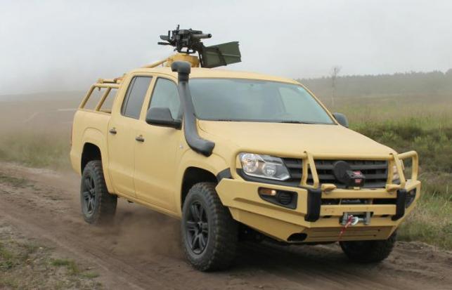 Amarok M Light Multi-Purpose Vehicle (LMPV)