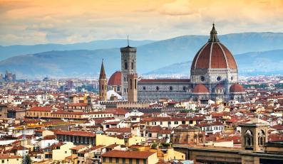 Florencja - panorama miasta