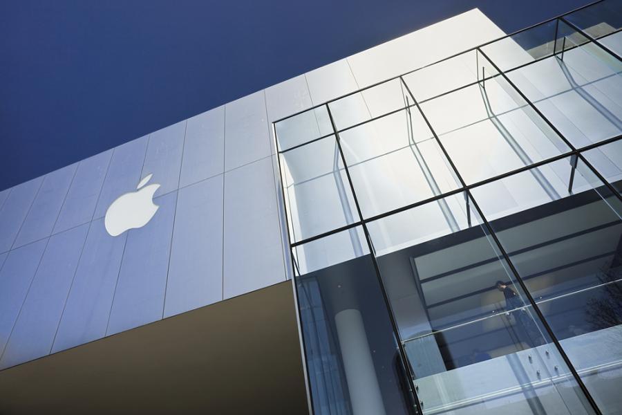 Największy sklep Apple\'a w Pekinie