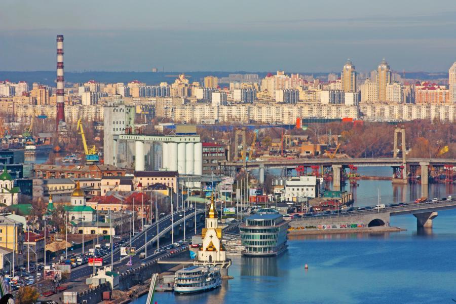 Doki w Kijowie
