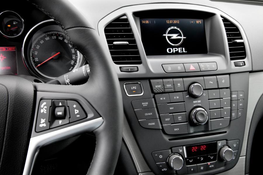 Opel insignia LPG