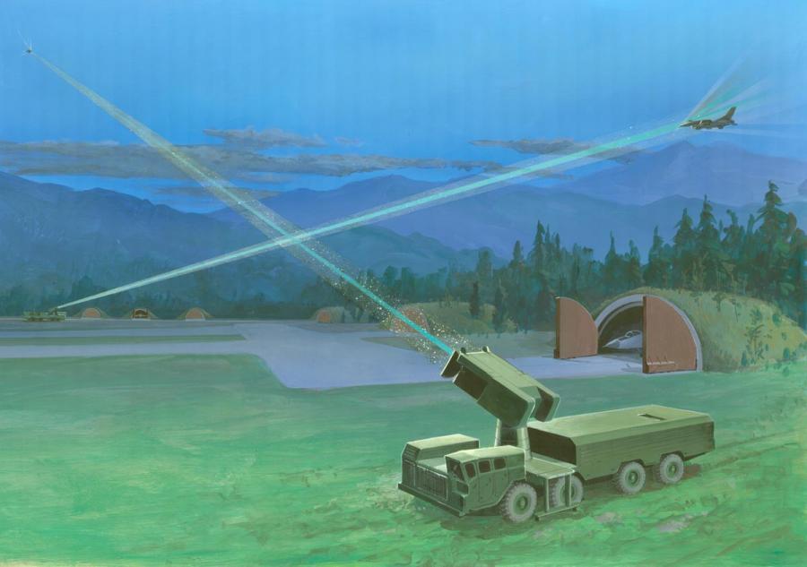 Wojsko chce bronić się przed laserami