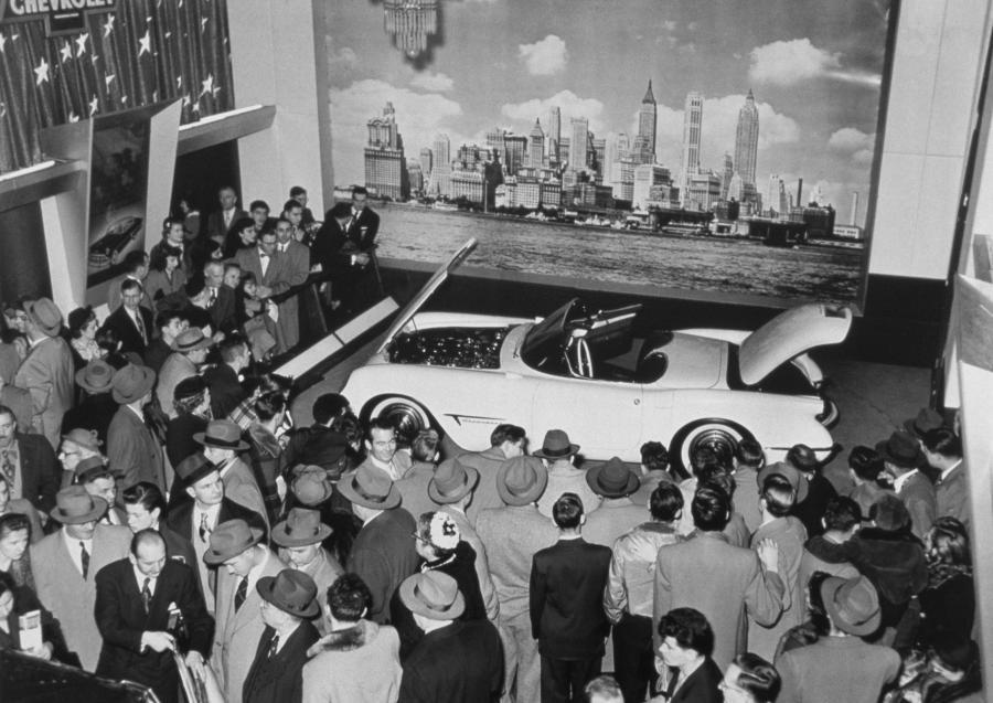 1953 Chevrolet Corvette - Motorama Show