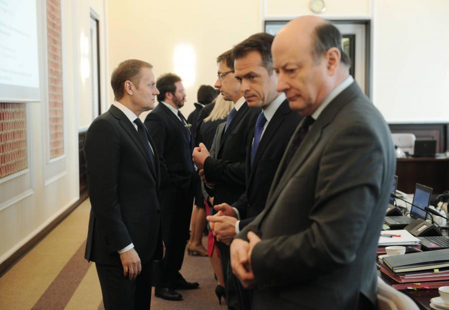 Donald Tusk, Sławmir Nowak, Jacek Rostowski