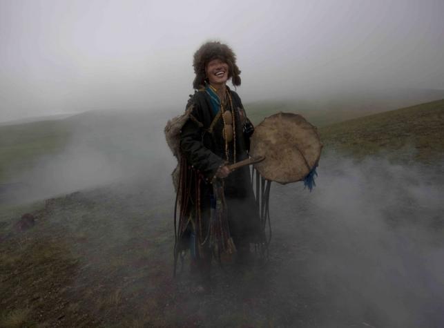 Szamani z Mongolii