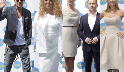 Gwiazdy TVN podczas prezentacji jesiennej ramówki