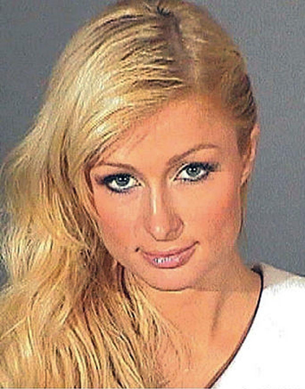 Gwiazdy w kartotekach policyjnych - Paris Hilton