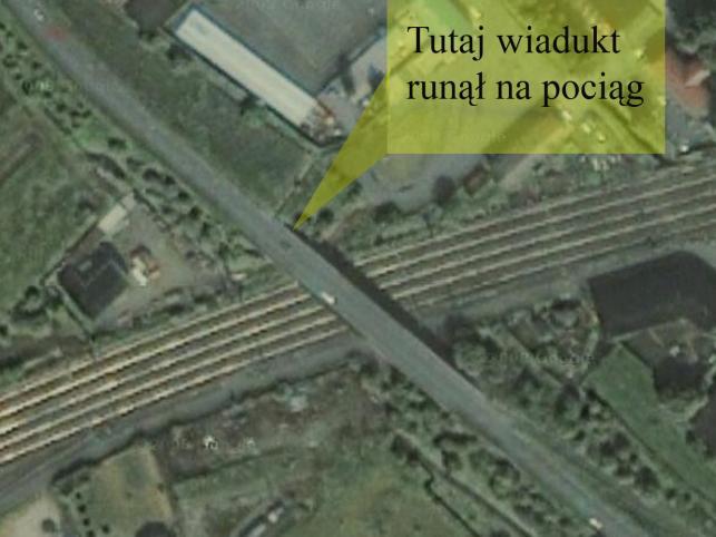 ... wjechał w konstrukcję wiaduktu na północnym wschodzie Czech
