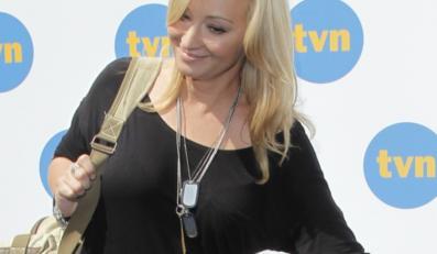 Martyna Wojciechowska na prezentacji jesiennej ramówki TVN