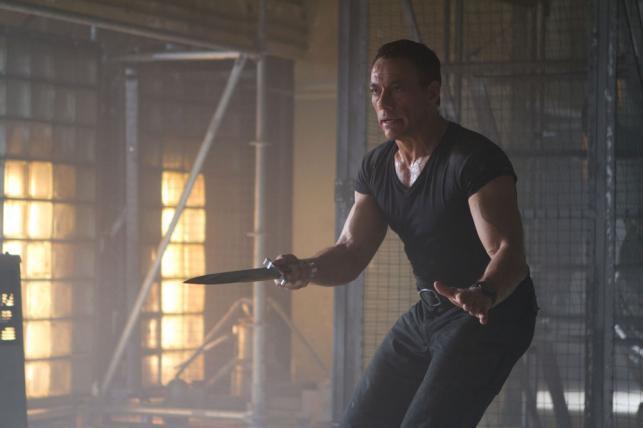 "Jean-Claude Van Damme w filmie ""Niezniszczalni 2"""